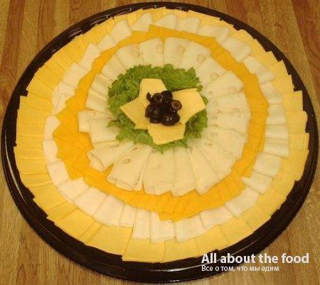 Фото как украсить сырную тарелку