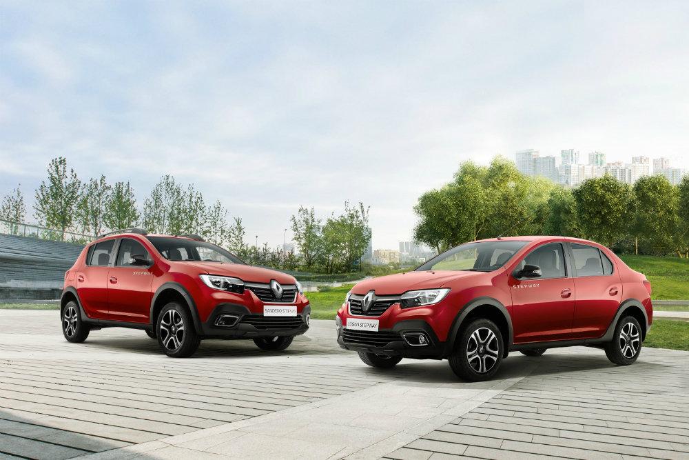 Renault рассекретила внедорожные версии Logan и Sandero для России
