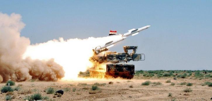 Сирийская ПВО отразила новый…