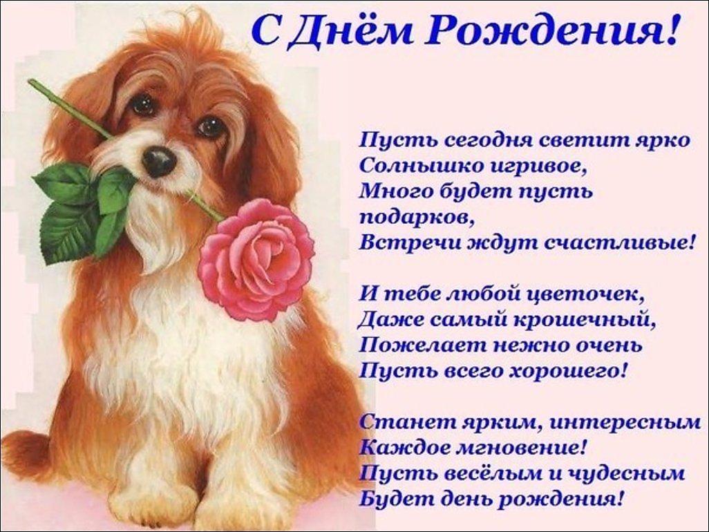 Стихи с поздравление днем рождения девушке
