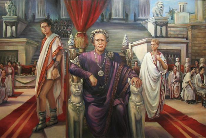 По легенде, Цезарь стал первым кесарем в своем окружении / Фото:yandex.ua