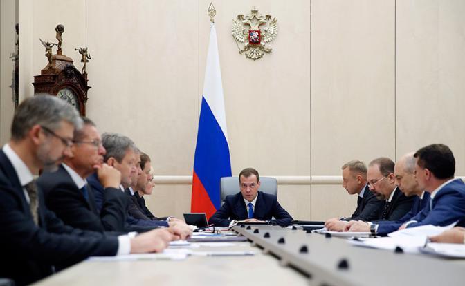 Заседание Кабмина РФ