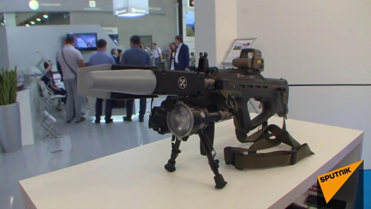 Видео: Как антидроновое ружье в реальности сажает беспилотники
