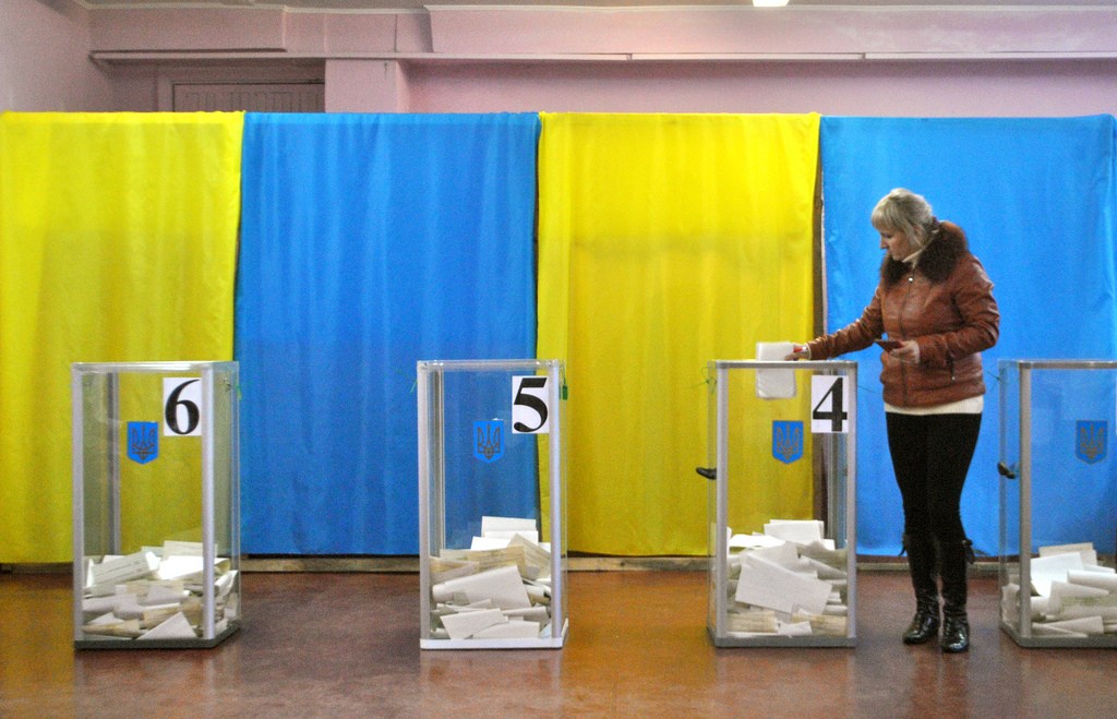 Россия проконтролирует выборы украинского президента