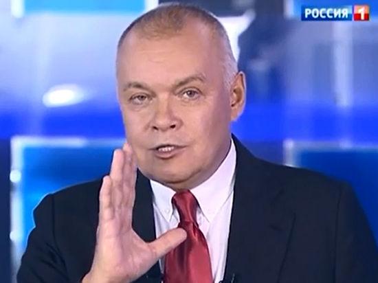 Киселёв прочёл неприличный стишок Бориса Джонсона про Эрдогана в эфире «Россия 1»