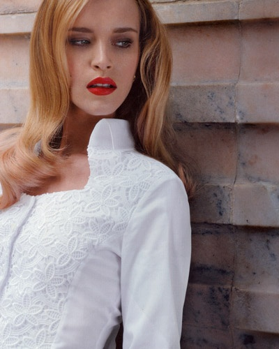 Подборка идей декора блузок