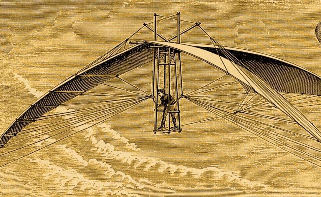 Самые невероятные из когда-либо созданных летающих машин