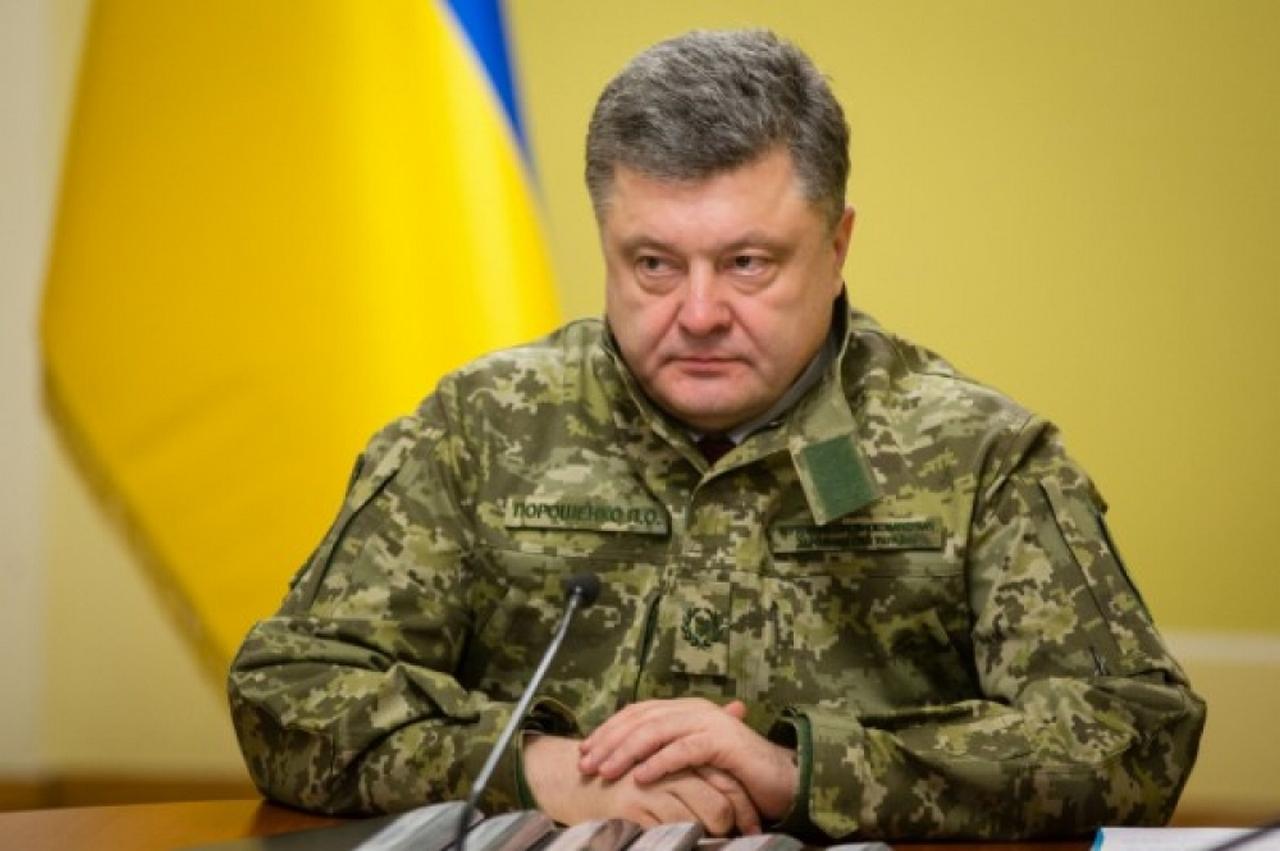 Национальная безопасность по-украински: Порошенко закрепил в законе войну в Донбассе