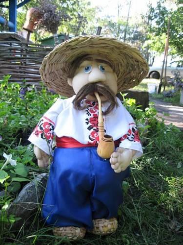 Садовая кукла Пан Чуб (мастер-класс)