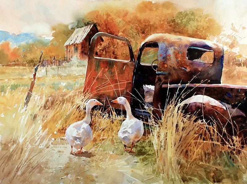 Carl Purcell — Карл Перселл — американский художник, специалист по акварели.