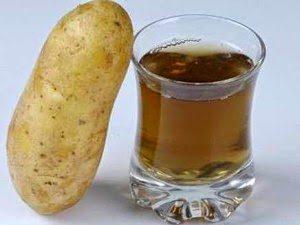 Лечение язвы желудка картофельным соком
