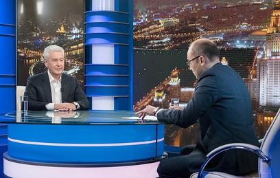Собянин в прямом эфире ответит на вопросы москвичей 17 мая