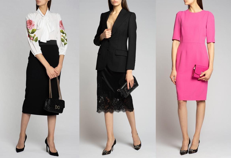Капсульный гардероб для офиса: образ от Dolce&Gabbana