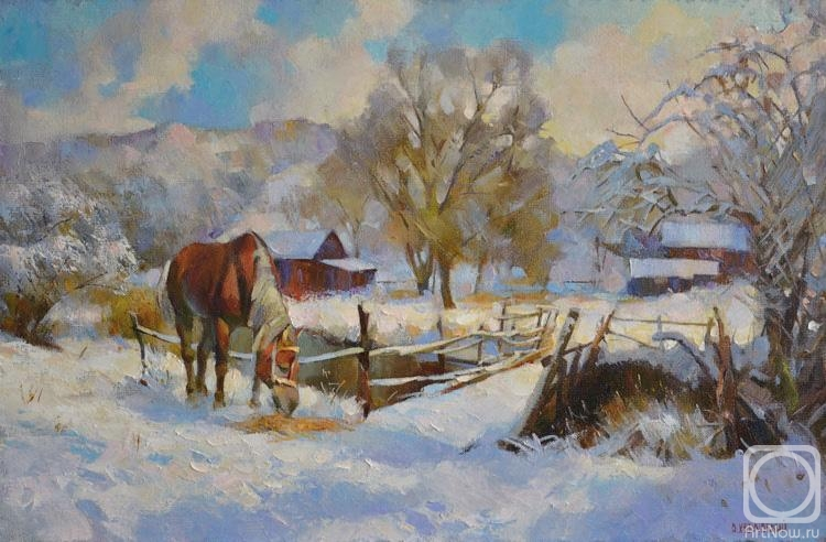 Щедрых красок полыханье... Украинский художник Василий Ходаковский