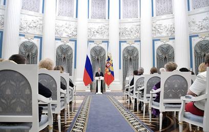 Путин лично наградил совершивших подвиг в Алеппо спецназовцев