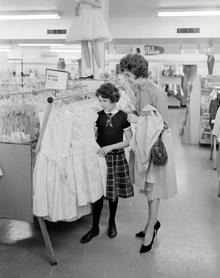 5) Брали вещи любого размера, которые появлялись в магазине воспитание, дети, интересно, родители, фото, чему учат детей сегодня