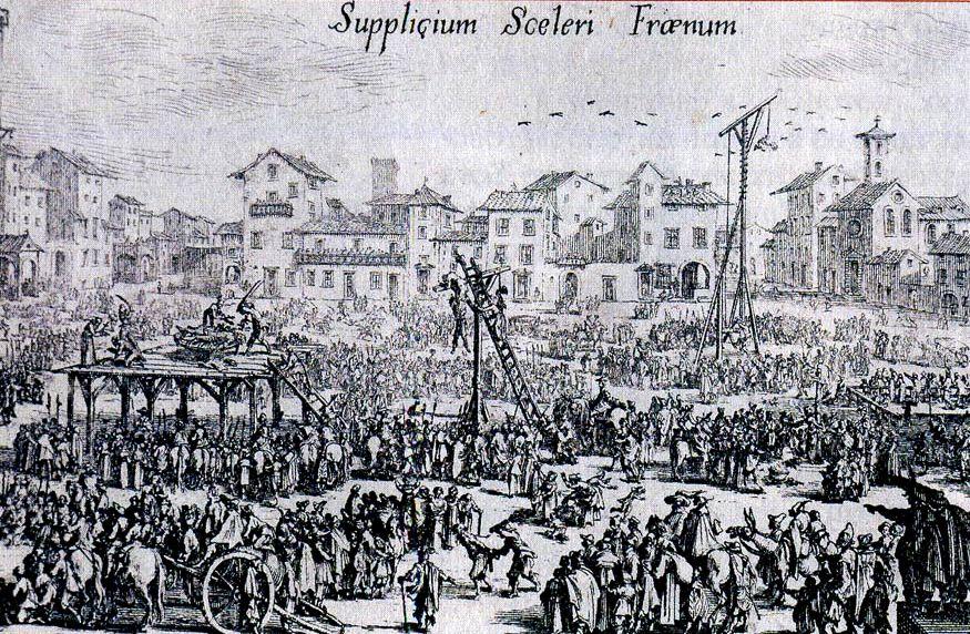 Остроконечники и тупоконечники. Франция. 16-й век.