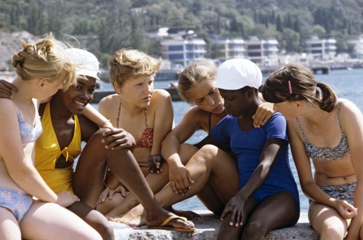 Советские дети в «Артеке»