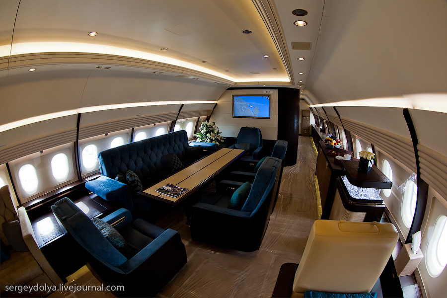 2252 Бахрейнский авиасалон: Интерьеры самолетов