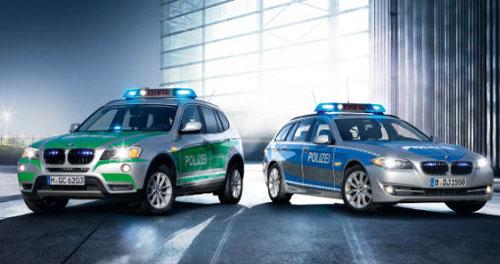 BMW готовит новинки для полиции