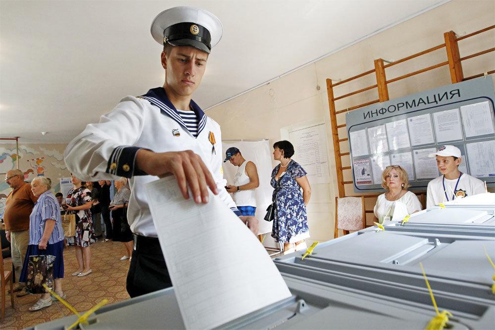 В 82 регионах страны прошел единый день голосования
