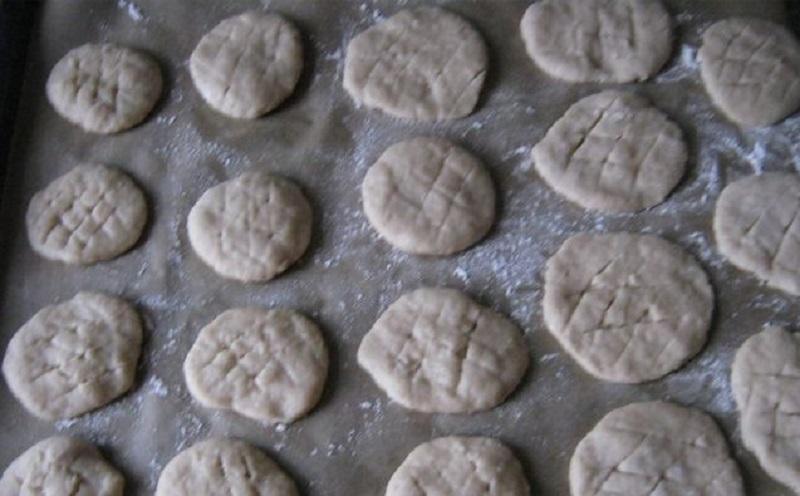 как готовить печенье на рассоле
