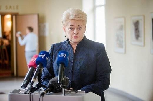 Грибаускайте: системы Patriot в Литве должны быть размещены на постоянной основе