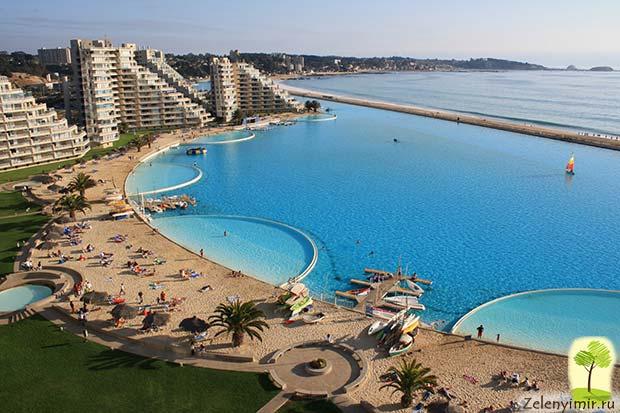 Самый большой бассейн в мире - Сан Альфонсо дель Мар, Чили - 4