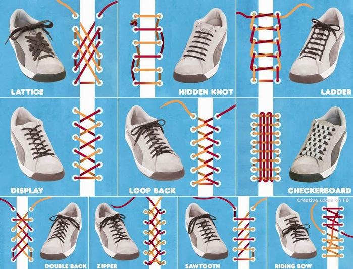 как завязывать шнурки (700x533, 150Kb)