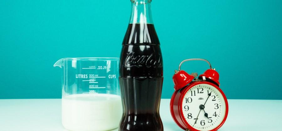 Картинки по запросу coca cola and milk experiment