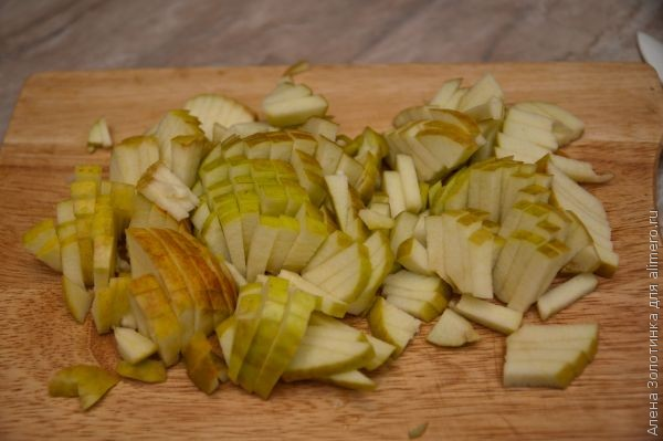 яблоки для салата Загадка