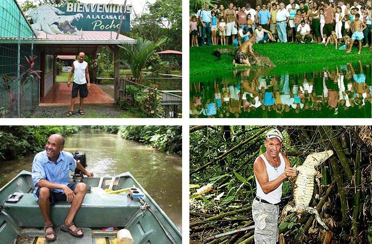 Я родился в небольшой деревне Сикиррес и с раннего возраста занимался ловлей рыбы. Я научился слушать джунгли, понимать животных. Когда я нашел Почо, то увидел, что он нуждается в помощи, и понял, что не могу оставить его умирать животные, жизнь, крокодил, люди, почо, рыбак, чито