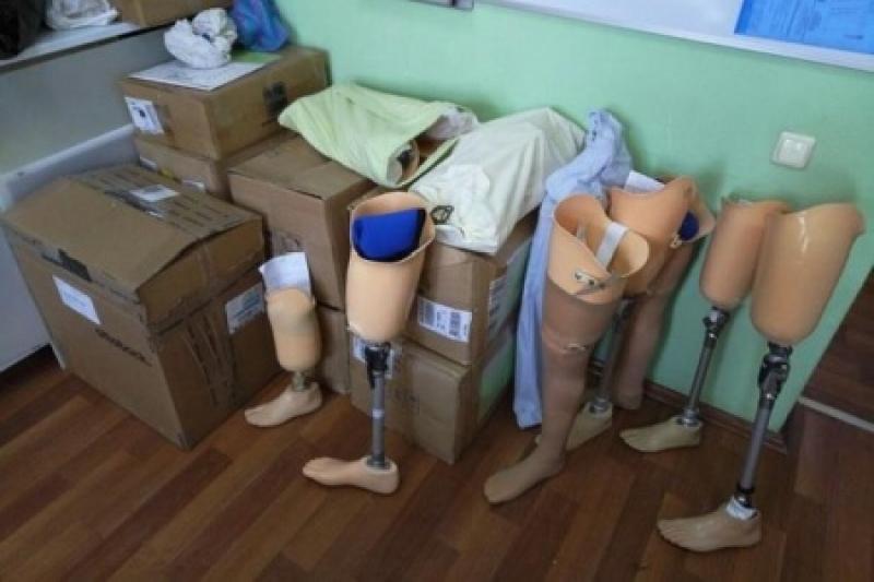 Патриоты жалуются, что страна-агрессор поставляла некачественные протезы инвалидам АТО