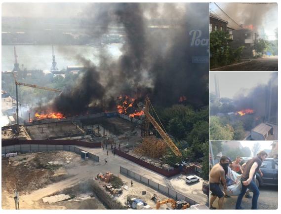 Молния! В Ростове горит целая улица, жителям которой угрожали застройщики. Есть жертвы