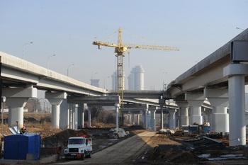 Новая эстакада разгрузит центр Москвы