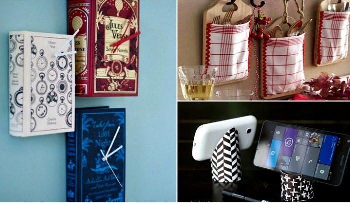 17 практичных вещиц для дома, которые можно смастерить своими руками