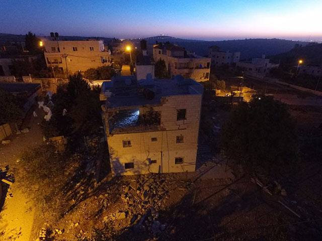 ЦАХАЛ показал уничтожение квартиры, ранее принадлежавшей террористу