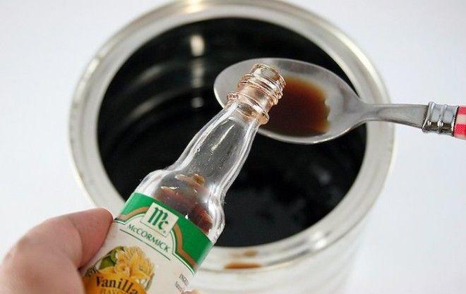 Экстракт ванили сделает запах краски как минимум терпимым