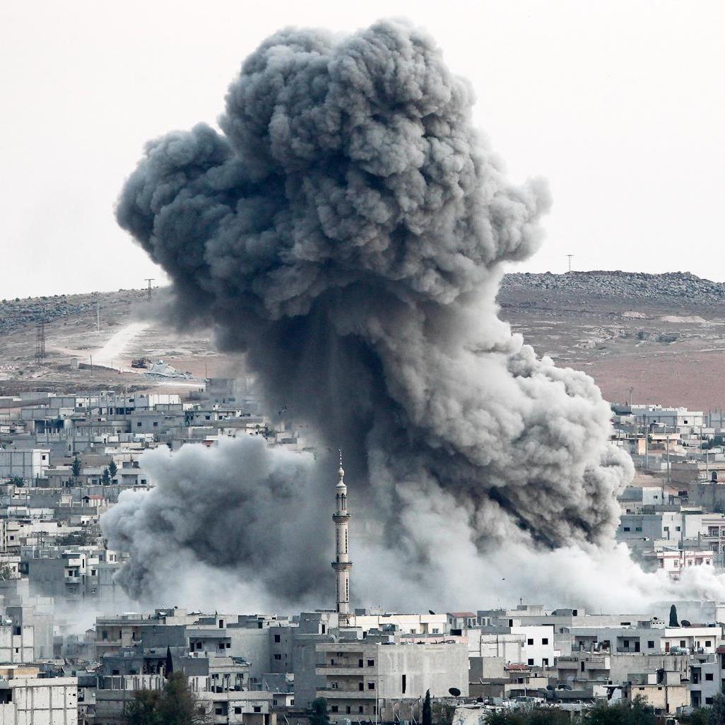 Коалиция подержала террористов в Сирии