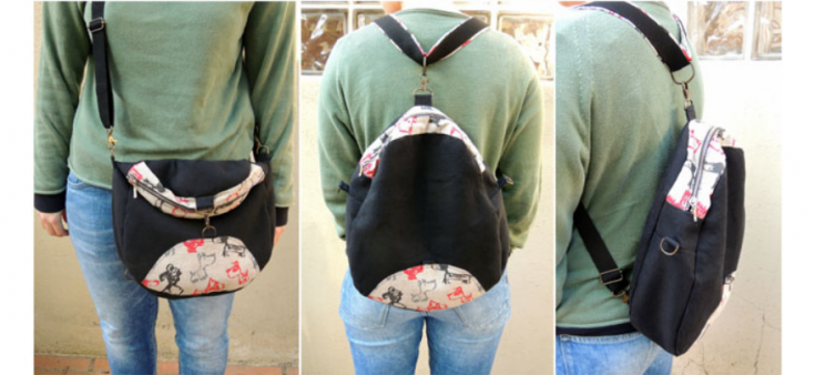 Сумка-рюкзак (трансформер) своими руками