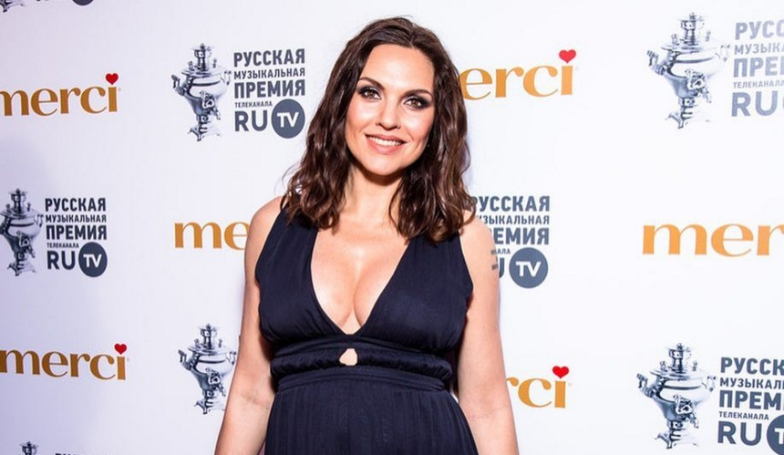 36-летняя Надежда Ручка родила первенца