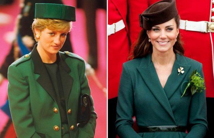 Один в один — 10 одинаковых образов принцессы Дианы и Кейт Миддлтон