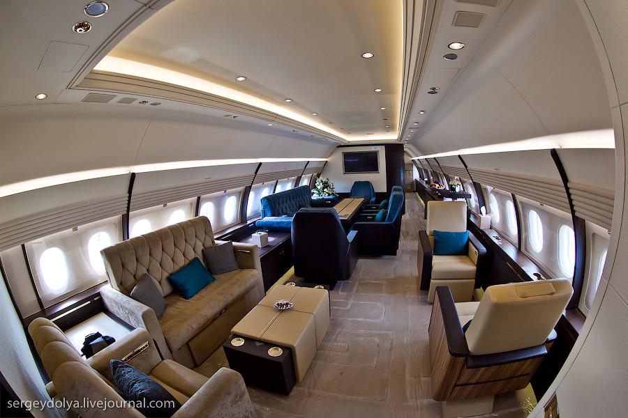 2253 Бахрейнский авиасалон: Интерьеры самолетов