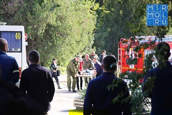 Список пострадавших во время взрыва и стрельбы в политехническом колледже Керчи
