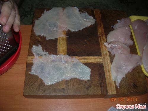 Необычная вкуснятина на ужин из куриного филе