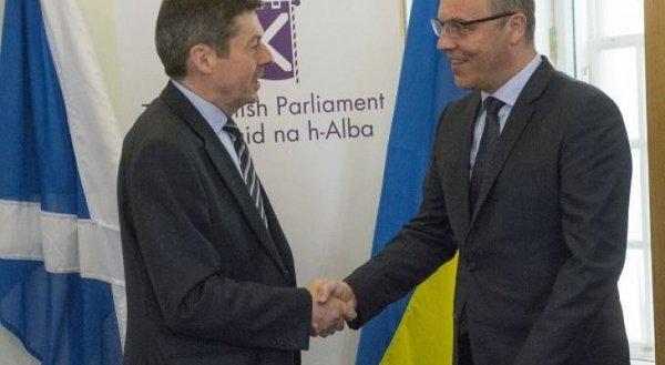 Украинский спикер своим визи…