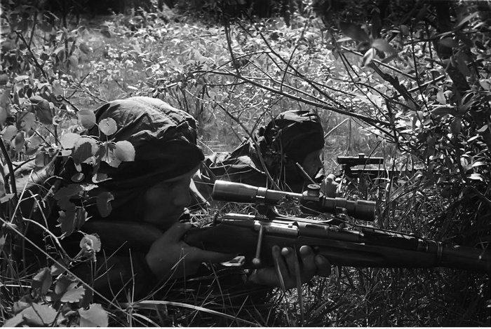 Советские снайперы Великой Отечественной