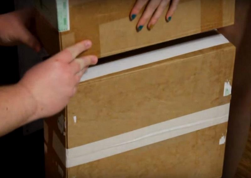 Камин из картонных коробок как сделать 154
