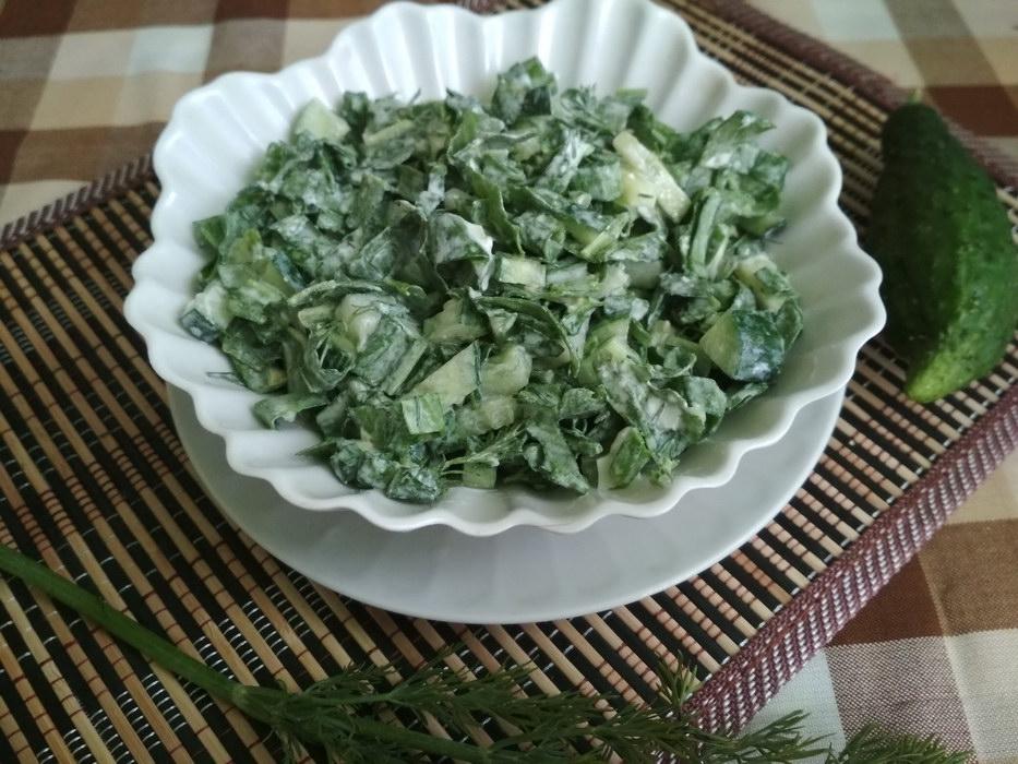 Салат «Зелёная витаминка» – …