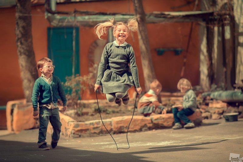 Скакалка © Марианна Смолина / Москва Best of Russia, в мире, кадр, конкурс, люди, россия, фото